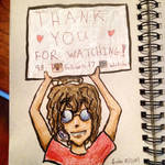 30 Day Sketchbook #30 Thank You! by Auto-nin13