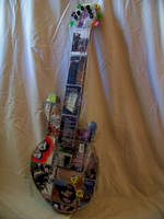 CD Case Guitar by DESIGNOOB