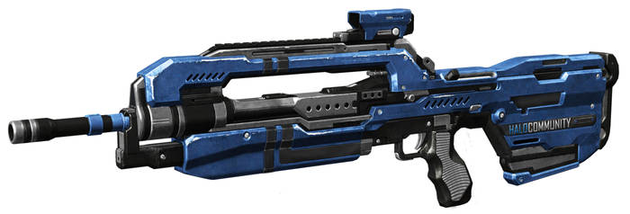 Halo Community Battle Rifle by DESIGNOOB