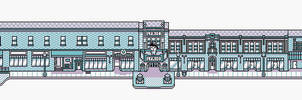 Lyric Theator Blacksburg, VA Pixel Version by DESIGNOOB
