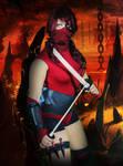 Halloween 2013 - Skarlet by DESIGNOOB