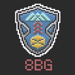 8 Bit Guardians Crest by DESIGNOOB