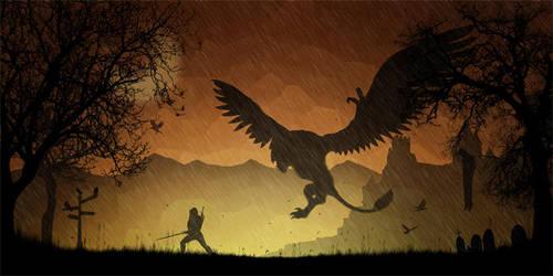 Geralt of Rivia by DESIGNOOB