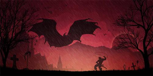 Simon of Castlevania by DESIGNOOB