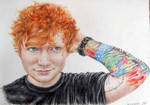 Ed Sheeran Portrait by OlyaGvozdeva