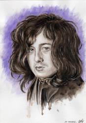 Jimmy Page Portrait by OlyaGvozdeva