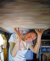 'Self-Portrait, Heavy' by HeatherHorton