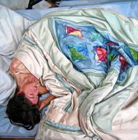 Figure, Curled by HeatherHorton