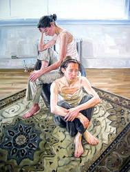 Double Portrait by HeatherHorton