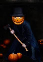 The Halloween Killer Pumpkin by PsdDude