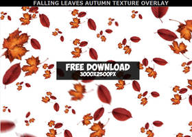 Falling Leaf Leaves Texture PNG for Commercial Use by PsdDude