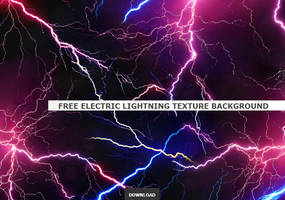 Free Electric Lightning Texture for Commercial Use by PsdDude