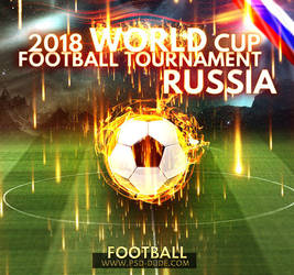 Football World Cup 2018 Russia by PsdDude