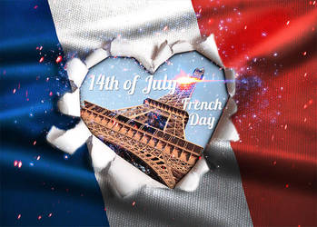 French National Day by PsdDude
