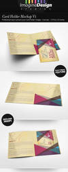 Card Holder Mockup V1 by idesignstudio