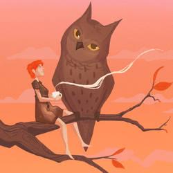 Autumn Tales 6 - Tea time by MonicaValero