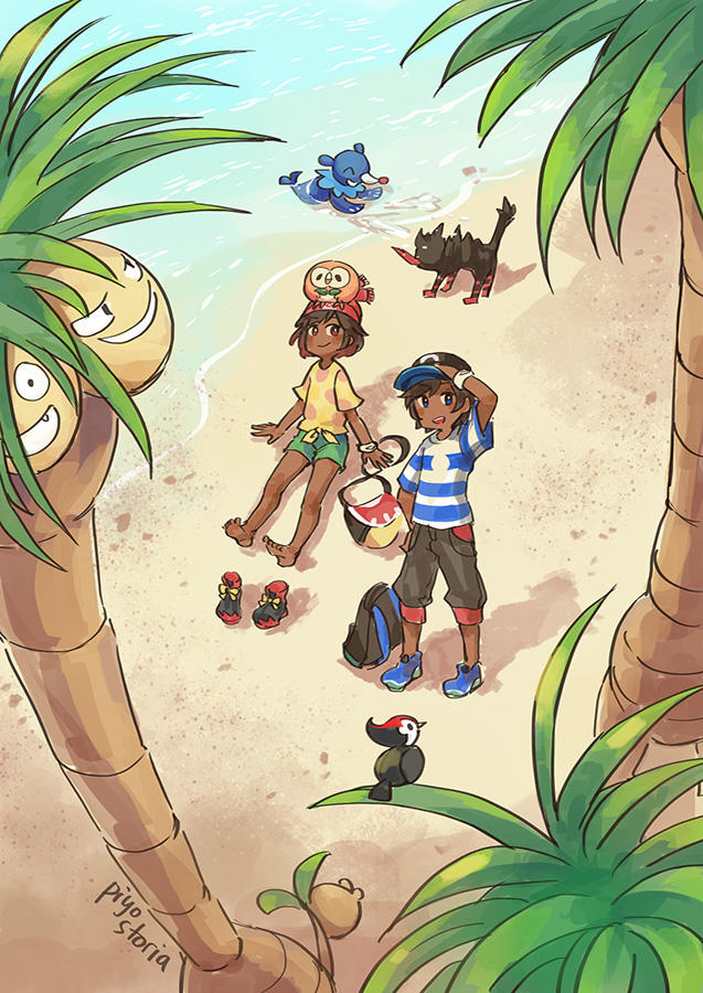 beach time by piyostoria