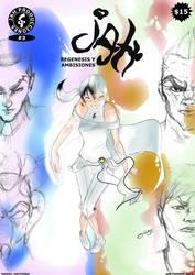 Tapa de JAH #3 REGENESIS Y AMBICIONES by ODH77