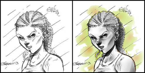 Silvia - Personaje by ODH77