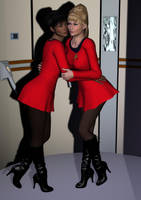 Uhura And Rand by SciFiZone