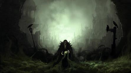 Dark Wizard by Antichristofer