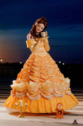 Belle from Beauty and the Beast - Disney Cosplay by Fiore-di-Luna