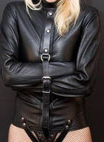 leather straitjacketed by catsmann