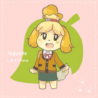 Animal Crossing - Isabelle by chocomiru02