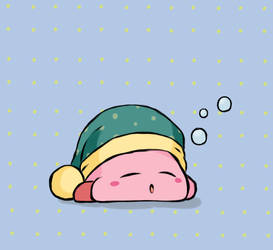 Kirby - Sleep Kirby by chocomiru02