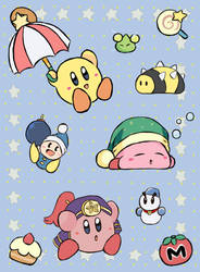 Kirby - Wallpaper by chocomiru02