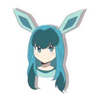 Pokemon - Glaceon Gijinka by chocomiru02