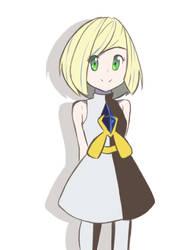 Pokemon USUM - Young Lusamine by chocomiru02