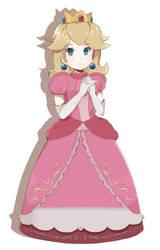 Super Mario Bros - Princess Peach (Final) by chocomiru02