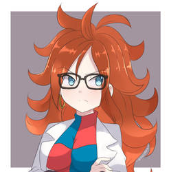 Dragon Ball FighterZ - Android 21 by chocomiru02