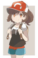 Pokemon Let's GO  - Female Player by chocomiru02