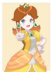 Super Smash Bros Ultimate - Princess Daisy by chocomiru02
