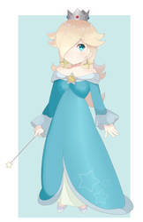 Super Smash Bros Ultimate - Rosalina (Redraw) by chocomiru02