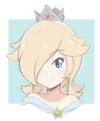 Princess Rosalina - Light Palette Sketch by chocomiru02