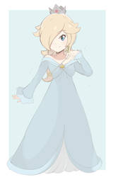 Princess Rosalina - Light Palette (Full Body Ver.) by chocomiru02