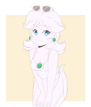Princess Daisy - Summer Swimsuit (WIP) by chocomiru02