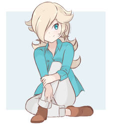 Rosalina - Casual Outfit 3 (Colored Sketch) by chocomiru02