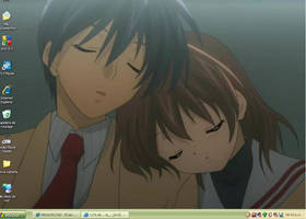 CLANNAD screenshot by Karura1255