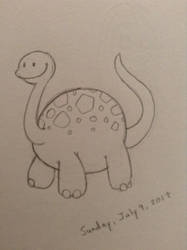 Little Dinosaur by Rose-Hunter