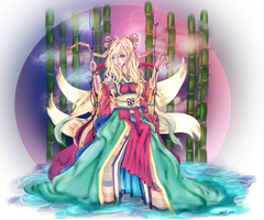 Bamboo goddess colours by Loilie