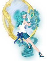 Sailor Neptune Senshi by Loilie