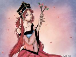 Princess Kakyuu by Loilie