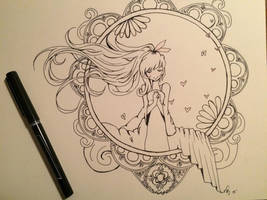 A little love by Loilie