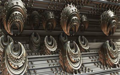 Techno Pods Two by Trenton-Shuck