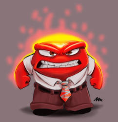 Anger by MichaeLogicalM