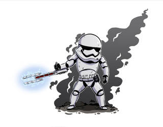 Traitor! Stormtrooper by MichaeLogicalM